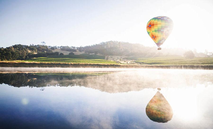 Luftballong som representerar att kommunikationen kan få hållbarhetsarbetet att lyfta.